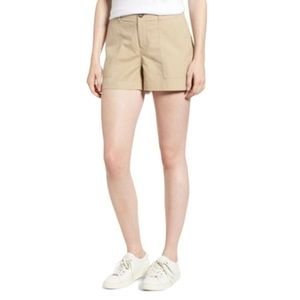 Nordstrom Signature Beige Khaki Chino Shorts